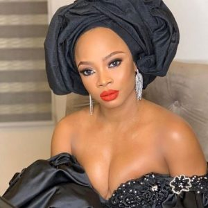 'Those Boobs Are Crying For Help' Fans React To Toke Makinwa's Revealing Outfit To The Premiere Of 'Chief Daddy'